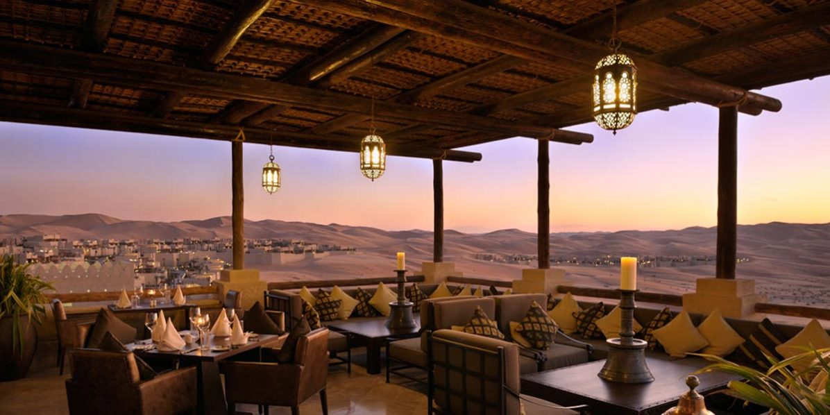Terrace For Event In The Desert, Qasr Al Sarab, Prestigious Venues