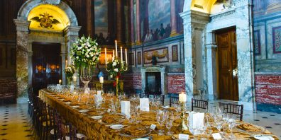 The Saloon Private Dinner, Blenheim Palace, Prestigious Venues