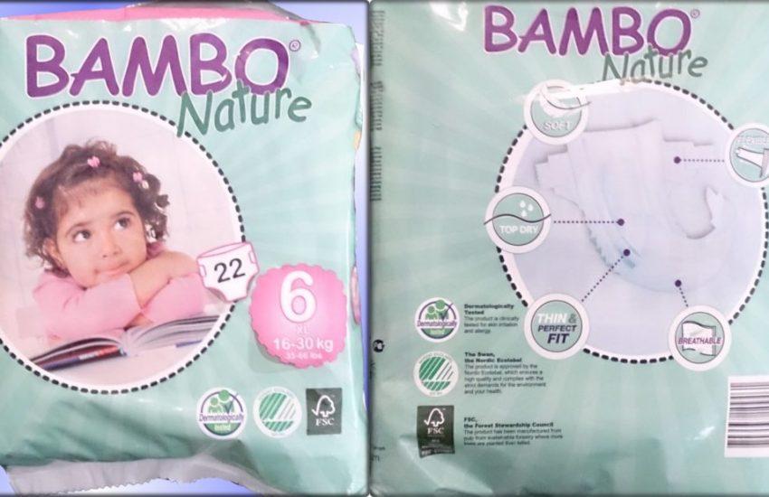 Testpackung Bambo Nature Größe 6 XL