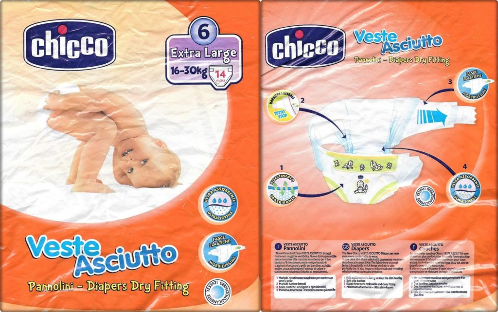 Testpackung Chicco Veste Asciutto 6 Extra large