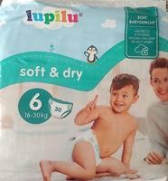 Lupilu soft & dry Windeln Größe 6