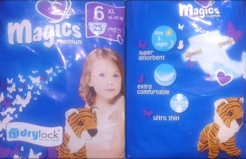 Testpackung Magics premium 6 XL Windeln