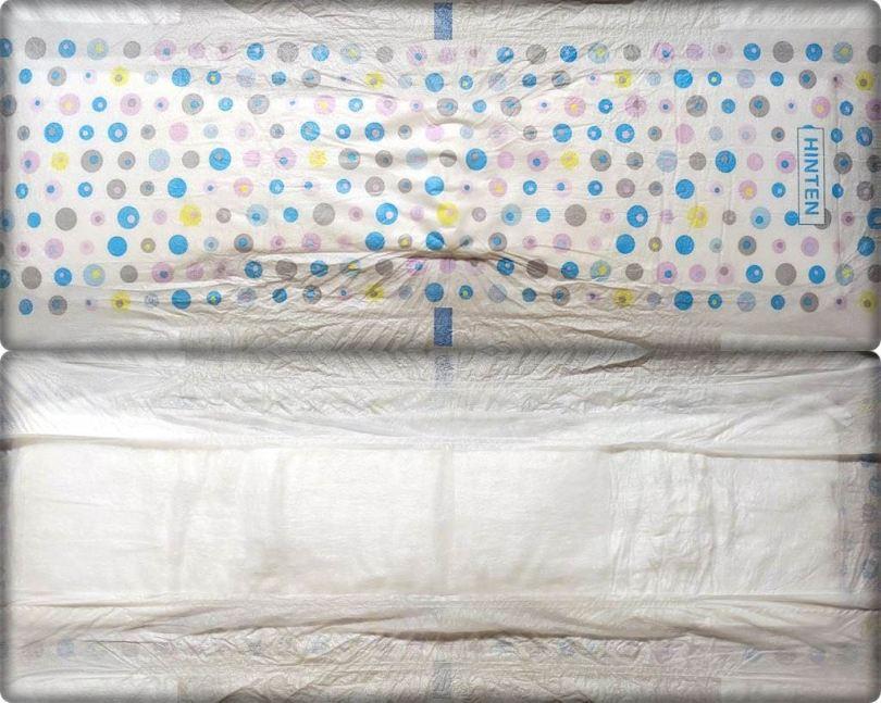 Gesamte Innen- und Außenansicht der Babydream Gute-Nacht-Höschen Girls 4-8 Jahre