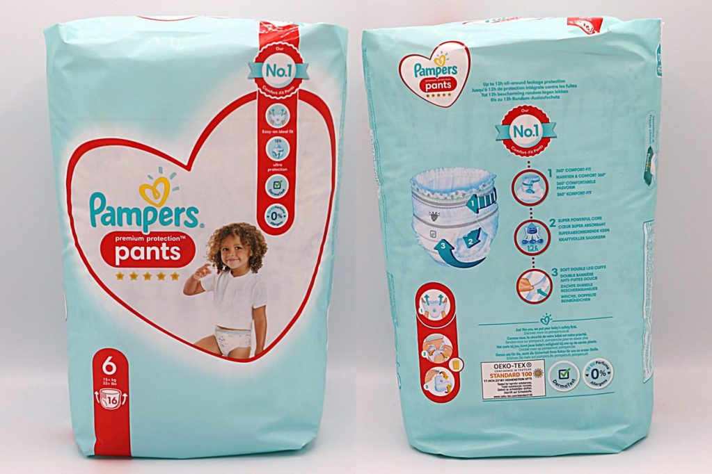 Cover der Pampers Premium Protection Pants Gr. 6