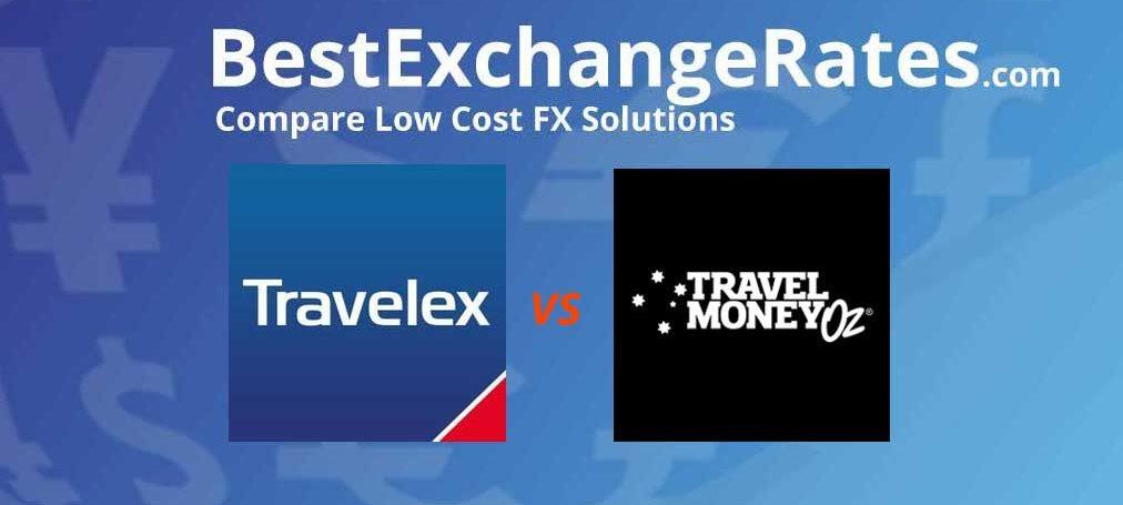 Travelex & TravelMoneyOz - Who has best rates? | Best