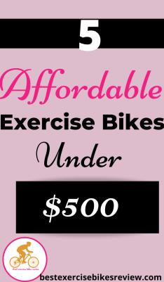 For Best Exercise Bike Under 500