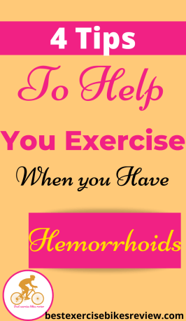 For Can riding a bike cause hemorrhoids?