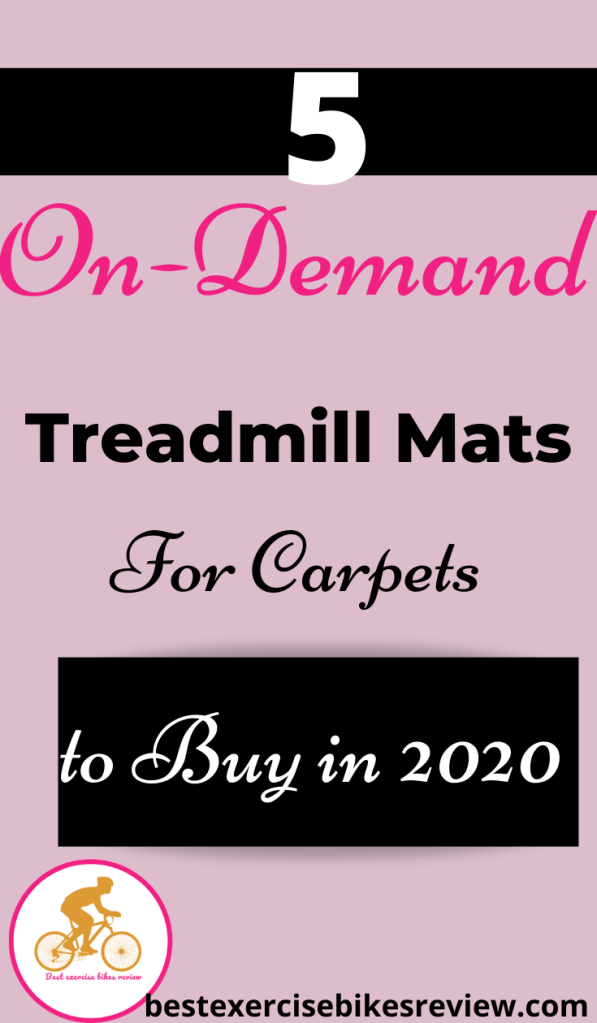 For Treadmill Mats for Carpets
