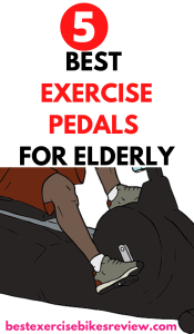 Exercise pedals for elderly