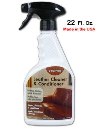 Leather Cleaner & Conditioner by Forcefield 22 oz.: Best