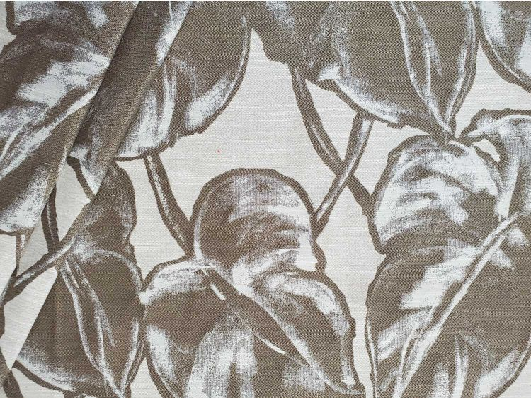 paradise taupe upholstery fabric