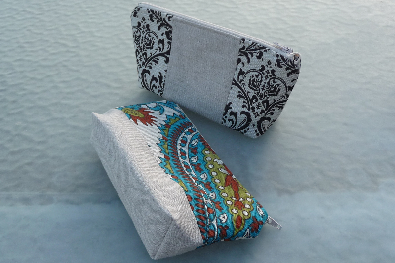 Zippered Cosmetic Bag Best Fabric