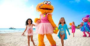 Sesame Street at Beaches