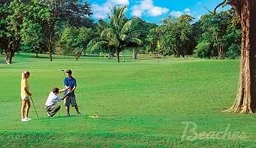 Family Golf Vacation
