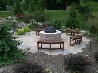 Backyard Fire Pit Ideas Landscaping | Fire Pit Design Ideas