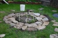 Building An Inground Fire Pit | Fire Pit Design Ideas