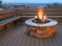 Concrete Gas Fire Pit | Fire Pit Design Ideas