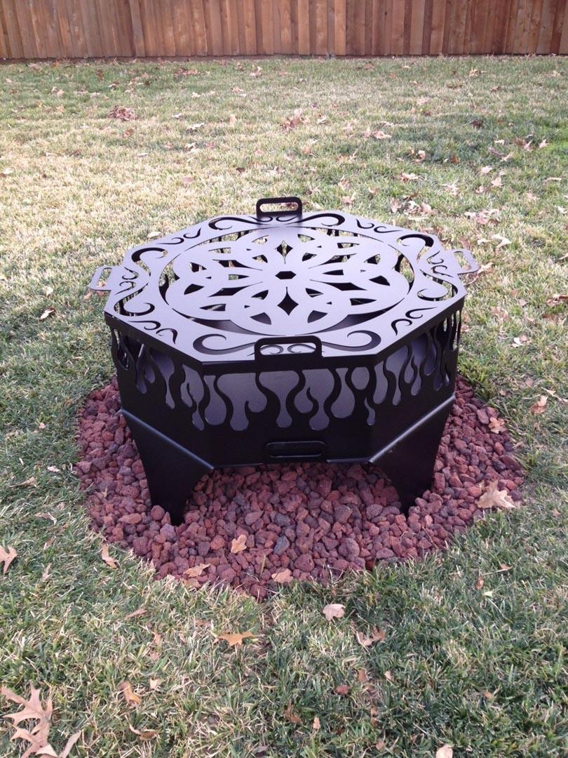 Custom Fire Pit Ring  Fire Pit Design Ideas