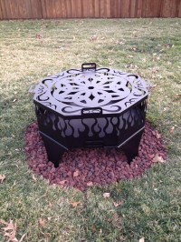 Custom Fire Pit Ring | Fire Pit Design Ideas