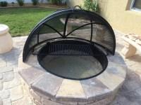 Custom Fire Pit Screens | Fire Pit Design Ideas