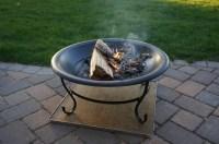 Deck Fire Pit Mat | Fire Pit Design Ideas