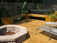Deck With Fire Pit Ideas | Fire Pit Design Ideas