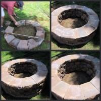 DIY Brick Fire Pit Tutorial   Fire Pit Design Ideas