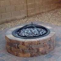 The Brilliant DIY Propane Fire Pit Decoration   Fire Pit ...