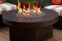 DIY Gas Fire Pit Glass | Fire Pit Design Ideas