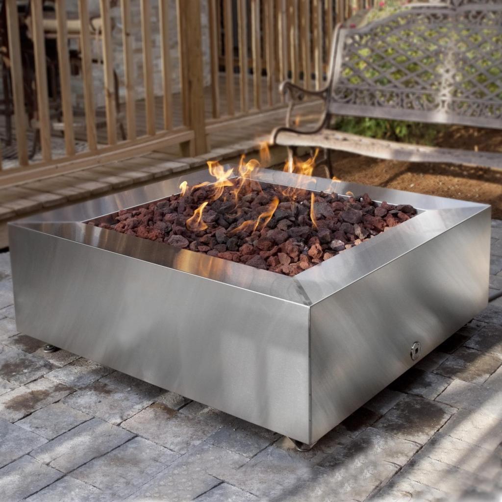 DIY Natural Gas Fire Pit  Fire Pit Design Ideas