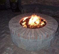 DIY Brick Fire Pit Tutorial | Fire Pit Design Ideas