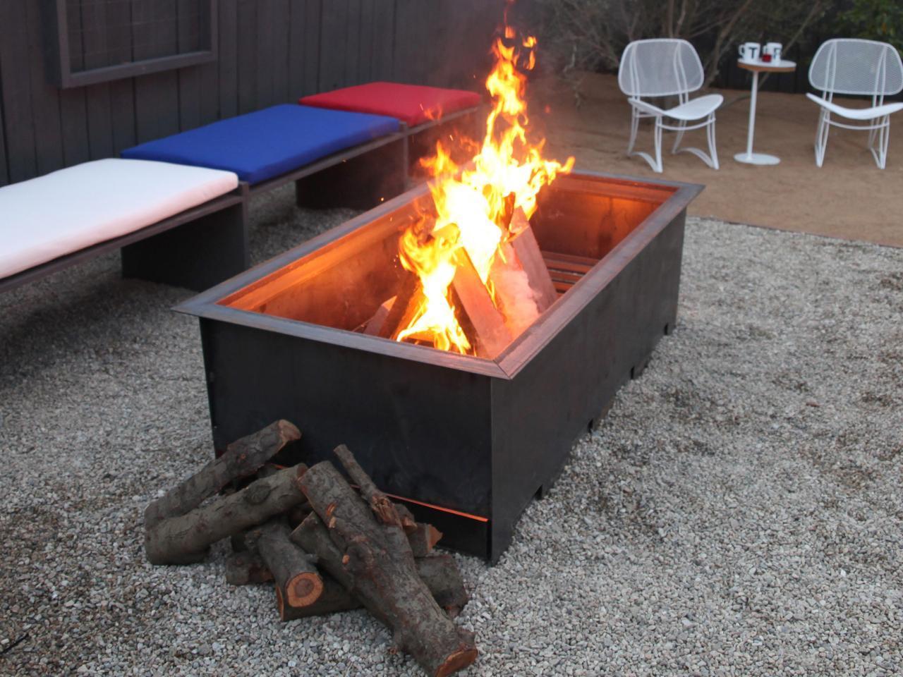 DIY Portable Patio Fire Pit