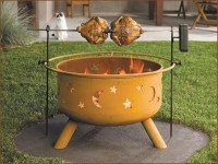 Safe and Nice to Hold Parties with Fire Pit Cooking | Fire ...