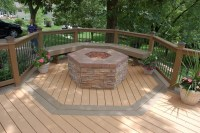 Fire Pit In Deck | Fire Pit Design Ideas
