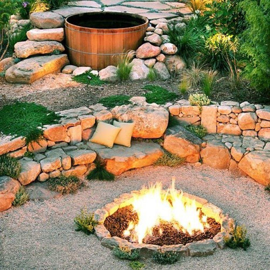 Fire Pit Rocks Best  Fire Pit Design Ideas