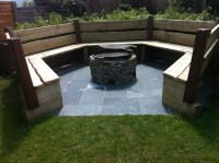 Need a Cozy Fire Pit Seating?   Fire Pit Design Ideas