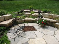 How to Build a Flagstone Fire Pit Out of a Kit   Fire Pit ...