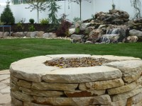 Flagstone Fire Pit Ideas   Fire Pit Design Ideas