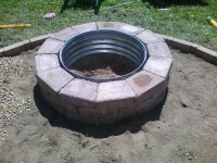 Galvanized Fire Pit Ring 48 | Fire Pit Design Ideas