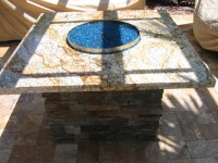 Glass for Fire Pit is Your New Black | Fire Pit Design Ideas