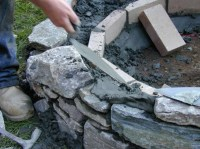 How To Build A Brick Fire Pit Without Mortar | Fire Pit ...