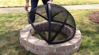 How To Make A Fire Pit Screen   Fire Pit Design Ideas