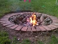 DIY Brick Fire Pit Tutorial | Fire Pit Design Ideas