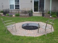 Metal Fire Pit Cover For Round Fire Ring | Fire Pit Design ...