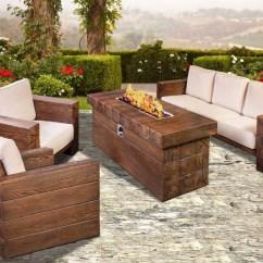Backyard Fire Pit Chairs Linen Slipcover Chair Outdoor Furniture Design Ideas