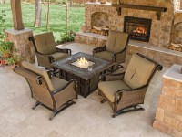 Outdoor Furniture With Fire Pit Table | Fire Pit Design Ideas