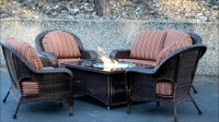 Outdoor Patio Furniture With Fire Pit   Fire Pit Design Ideas