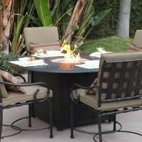 Patio Dining Table With Fire Pit | Fire Pit Design Ideas