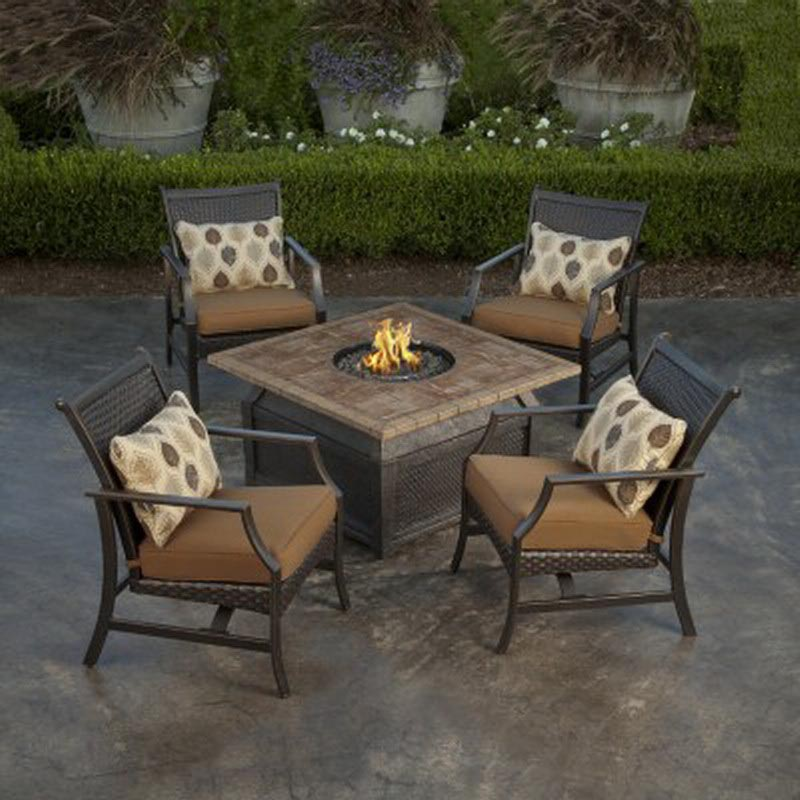 Patio Furniture With Fire Pit