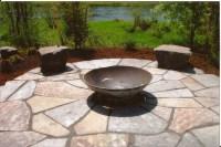 Paver Patio Designs With Fire Pit | Fire Pit Design Ideas